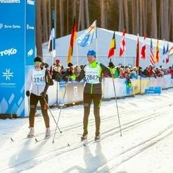 46. Tartu Maraton - Marina Järve (2749), Einar Järve (2842)