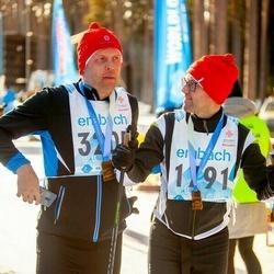 46. Tartu Maraton - Jüri Sirel (1791), Kalle-Kaspar Sepper (3205)