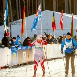 46. Tartu Maraton - Triin Käi (8426), Claire Miljukova (8597)