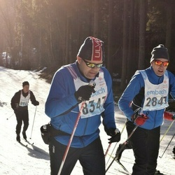 46. Tartu Maraton - Jüri Paltser (2847), Arne Kollbye (8347)