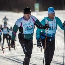 46. Tartu Maraton - Björn-Erik Wickholm (1423), Teet Ilves (2811)
