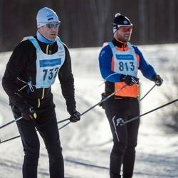 46. Tartu Maraton - Marek Viilol (732), Joel Mitt (813)