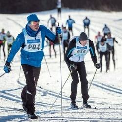 46. Tartu Maraton - Alar Alajaan (935), Marek Pauklin (984)
