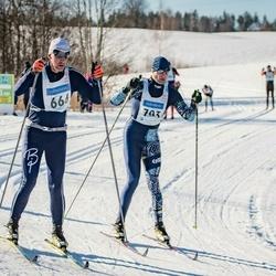 46. Tartu Maraton - Andre Laine (666), Endel Jänes (703)