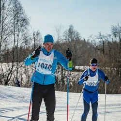 46. Tartu Maraton - Urmas Rajaver (1024), Rene Post (1070)