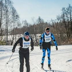 46. Tartu Maraton - Margus Elings (686), Keio Nõgel (795)