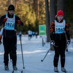 46. Tartu Maraton - Mari Punab (1560), Toomas Vahrusev (1976)