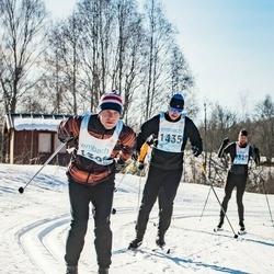 46. Tartu Maraton - Erkki Kukk (1394), Meelis Tolm (1435)