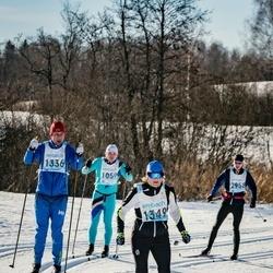 46. Tartu Maraton - Heino Lillipuu (1336), Katrin Sipelgas (1349)