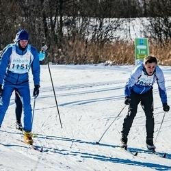 46. Tartu Maraton - Sten Pärnits (1050), Ago Saluveer (1151)