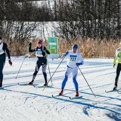 46. Tartu Maraton - Mati Kalvet (727), Piibe Tammemäe (3005)