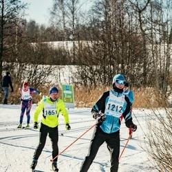 46. Tartu Maraton - Jaan Silvet (1212), Valmar Sisask (1651)