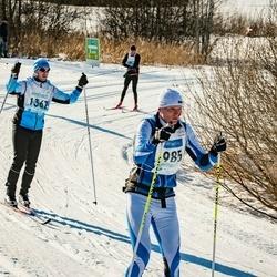 46. Tartu Maraton - Sven Tamsalu (985), Sandor Liive (1357)