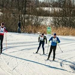 46. Tartu Maraton - Aivo Mündel (1069), Tanel Mangusson (1474), Tõnno Kask (3362)