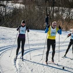 46. Tartu Maraton - Riina Luik (1915), Vardo Oolmets (2265)