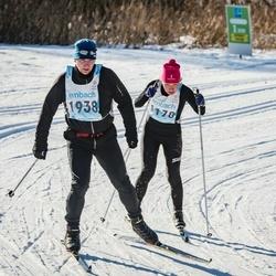 46. Tartu Maraton - Annika Vaher (1178), Herkki Kauts (1938)