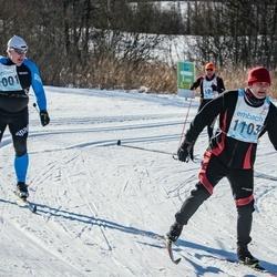 46. Tartu Maraton - Kalev Kreekman (1001), Indrek Sootla (1103)