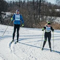 46. Tartu Maraton - Geidi Kruusmann (888), Vitaly Smirnov (1726)