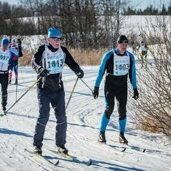 46. Tartu Maraton - Valdis Kurg (1403), Rain Hallimäe (1413)