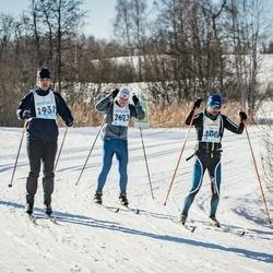 46. Tartu Maraton - Ivo Lepasaar (400), Taivo Huik (1931), Sergei Khodaev (2623)