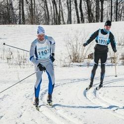 46. Tartu Maraton - Urmas Virkebau (1101), Andero Safronov (1270)