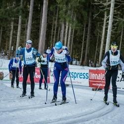 46. Tartu Maraton - Olev Põder (1353), Ari Asikainen (2506)