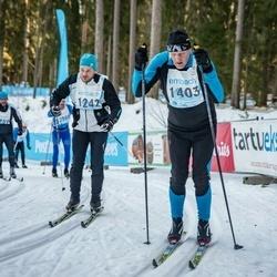 46. Tartu Maraton - Janek Trumm (1242), Valdis Kurg (1403)