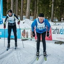 46. Tartu Maraton - Matti Hannila (2286), Allan Jõgi (2473)