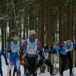 21. Alutaguse Maraton - Tauno Võhmar (317), Britta Kasela (327)