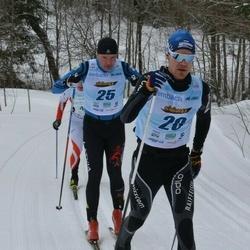 44. Haanja Maraton - Rasmus Pind (20), Toms Veits (25)