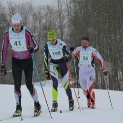 44. Haanja Maraton - Janno Rodendau (36), Tarmo Neemela (41), Alar Reiska (398)