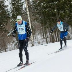 44. Haanja Maraton - Adrian Blake (168), Marek Järve (174)
