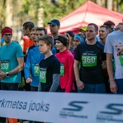 Parkmetsa jooks - Andreas Trumm (140), Rauno Jallai (330), Robert Unga (360)
