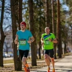 Parkmetsa jooks - Timo Müür (5), Rauno Jallai (330)