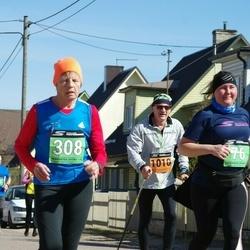 Parkmetsa jooks - Agnes Pärnamägi (76), Evi Vaino (308), Aivo Kruusimägi (1010)