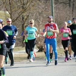 Parkmetsa jooks - Kristina Reinsalu (12), Aveliis Kadakmaa (16), Tiit Suits (100), Robi Annuk (317), Steffen Manfred Noe (361), Annely Kruusa (378)