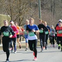 Parkmetsa jooks - Veronika Kadastik (36), Birgit Liira (237), Kerttu Jaomaa (266), Auliki Kaldamäe (310), Irma Tubli (316)