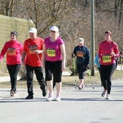 Parkmetsa jooks - Olev Tomson (1006), Jaana Möller (1013), Annely Kukk (1051)