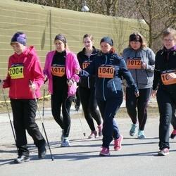 Parkmetsa jooks - Svetlana Jaska (1012), Annely Põldaru (1014), Helena Jaansalu (1040)