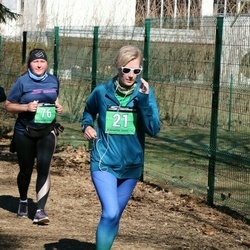 Parkmetsa jooks - Valentina Zolotarjova (21), Agnes Pärnamägi (76)