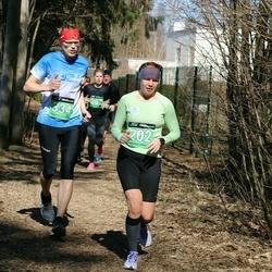 Parkmetsa jooks - Anna Kulešova (202), Riho Klement (334)