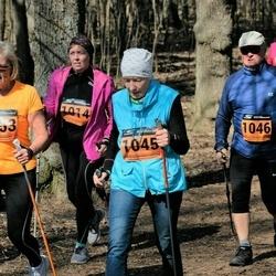 Parkmetsa jooks - Annely Põldaru (1014), Hele-Kaja Mäesepp (1045), Madis Lepajõe (1046), Leili Soovere (1053)