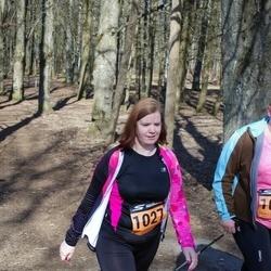 Parkmetsa jooks - Katrin Tamm (1025), Anneliis Rüütli (1027)