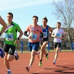 Haapsalu maanteejooks - Argo Jõesoo (4), Dmitri Aristov (5), Viljar Vallimäe (14), Indrek Ilumäe (257)