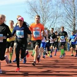 Haapsalu maanteejooks - Liliana Torn (16), Jarl Edur (62), Martin Kalmet (115)