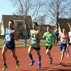 Haapsalu maanteejooks - Argo Jõesoo (4), Dmitri Aristov (5), Viljar Vallimäe (14), Marek Nõmm (138), Indrek Ilumäe (257)