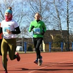 Haapsalu maanteejooks - Kertu Heil (46), Viljar Laanes (147), Martti Raavel (181), Christo Klettenberg (182)
