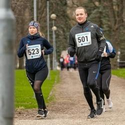 Sinilillejooks TARTU 2019 - Hans Mäesalu (501), Merike Palopson (523)