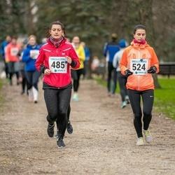 Sinilillejooks TARTU 2019 - Merily Meedla (485), Gerda Papp (524)