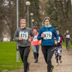 Sinilillejooks TARTU 2019 - Marina Liinar (875), Tiina Kartau (876)